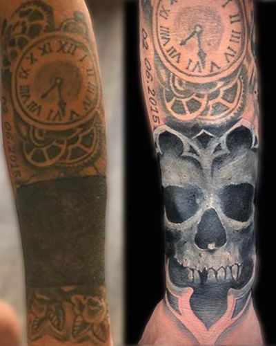 Tattoostil Coverup