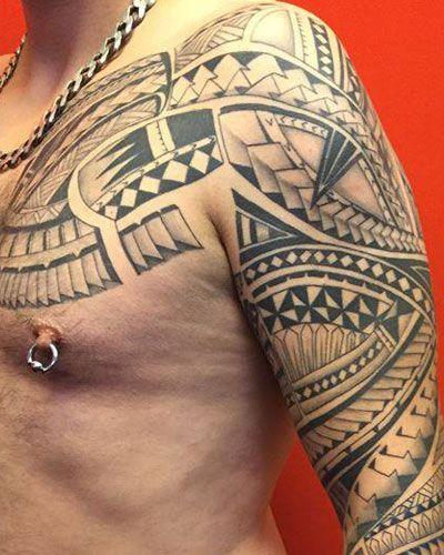 Tattoostil Maori